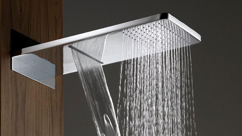 Descubre los beneficios de la ducha con efecto lluvia for Alcachofa de ducha efecto lluvia