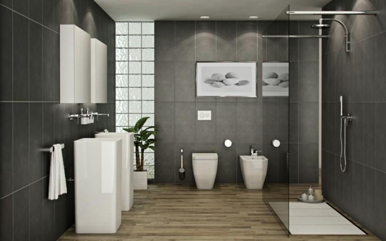 Estilos de ducha modernos para decorar tu ba o conducha - Cuartos de bano modernos con ducha ...