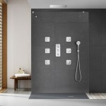 Grifo empotrado en ducha