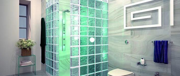 ¿Qué transmiten los colores en la ducha?
