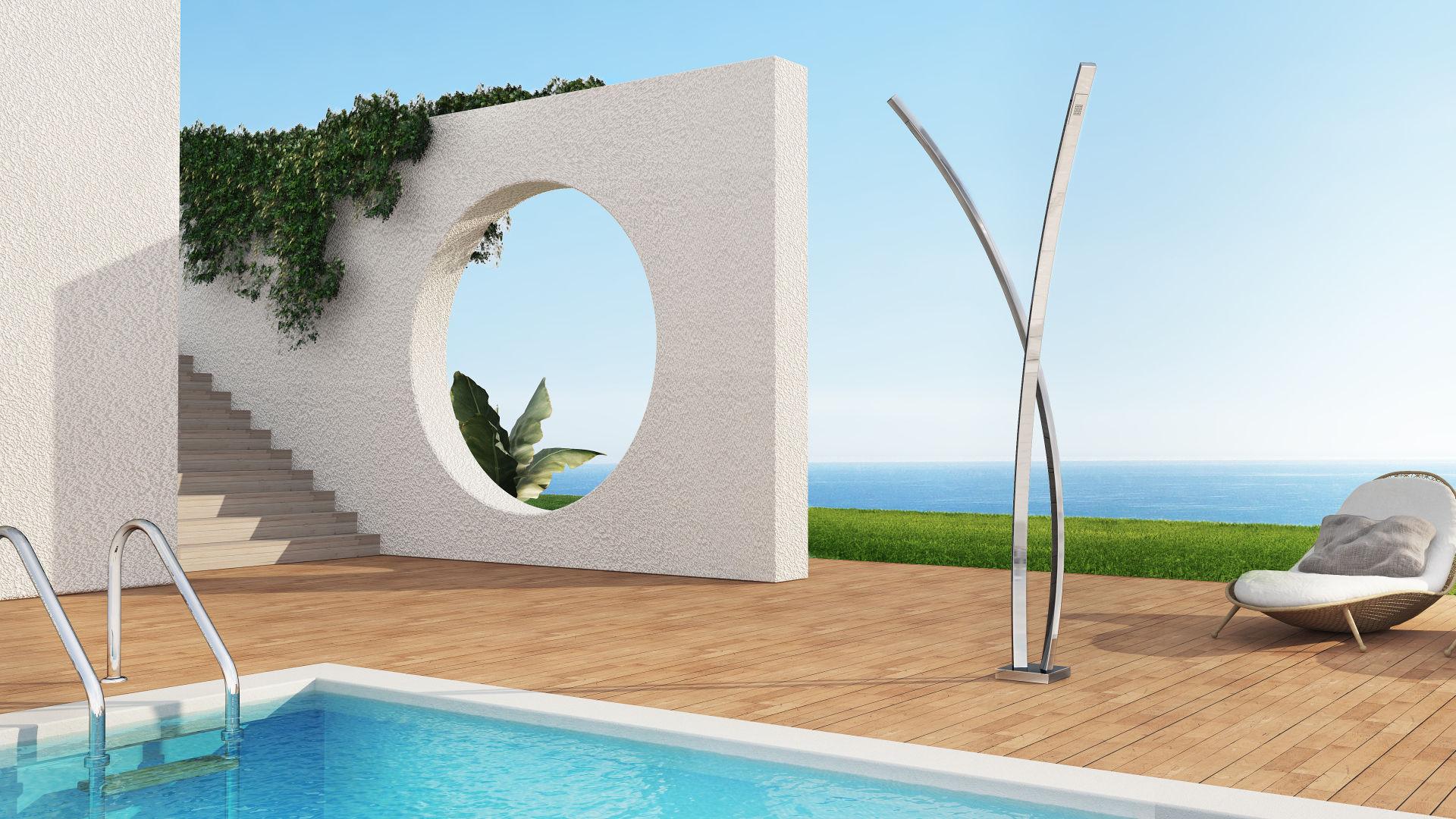 Las ventajas de instalar una ducha de exterior - Duchas piscinas exterior ...